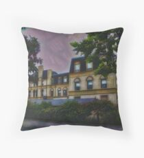 Haunted Castle (Top 10 Most Haunted on Yahoo) Throw Pillow