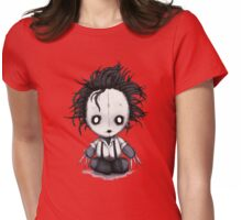 Plush Scissorhands Womens Fitted T-Shirt