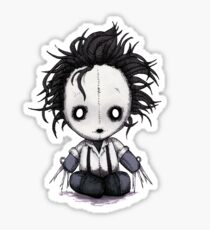 Plush Scissorhands Sticker