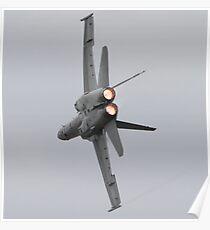 F/A-18A Hornet Poster