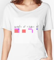 Visualization of Binomial Expansion for the 2nd Power  #Visualization #Binomial #Expansion #Power Relaxed Fit T-Shirt