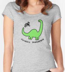 Jurassic Skatepark Fitted Scoop T-Shirt