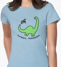 Jurassic Skatepark Fitted T-Shirt