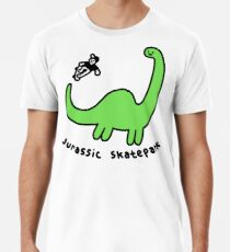Jurassic Skatepark Premium T-Shirt