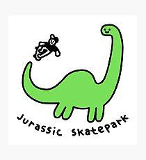 Jurassic Skatepark Photographic Print