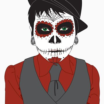 Skull Boy by liferuiner
