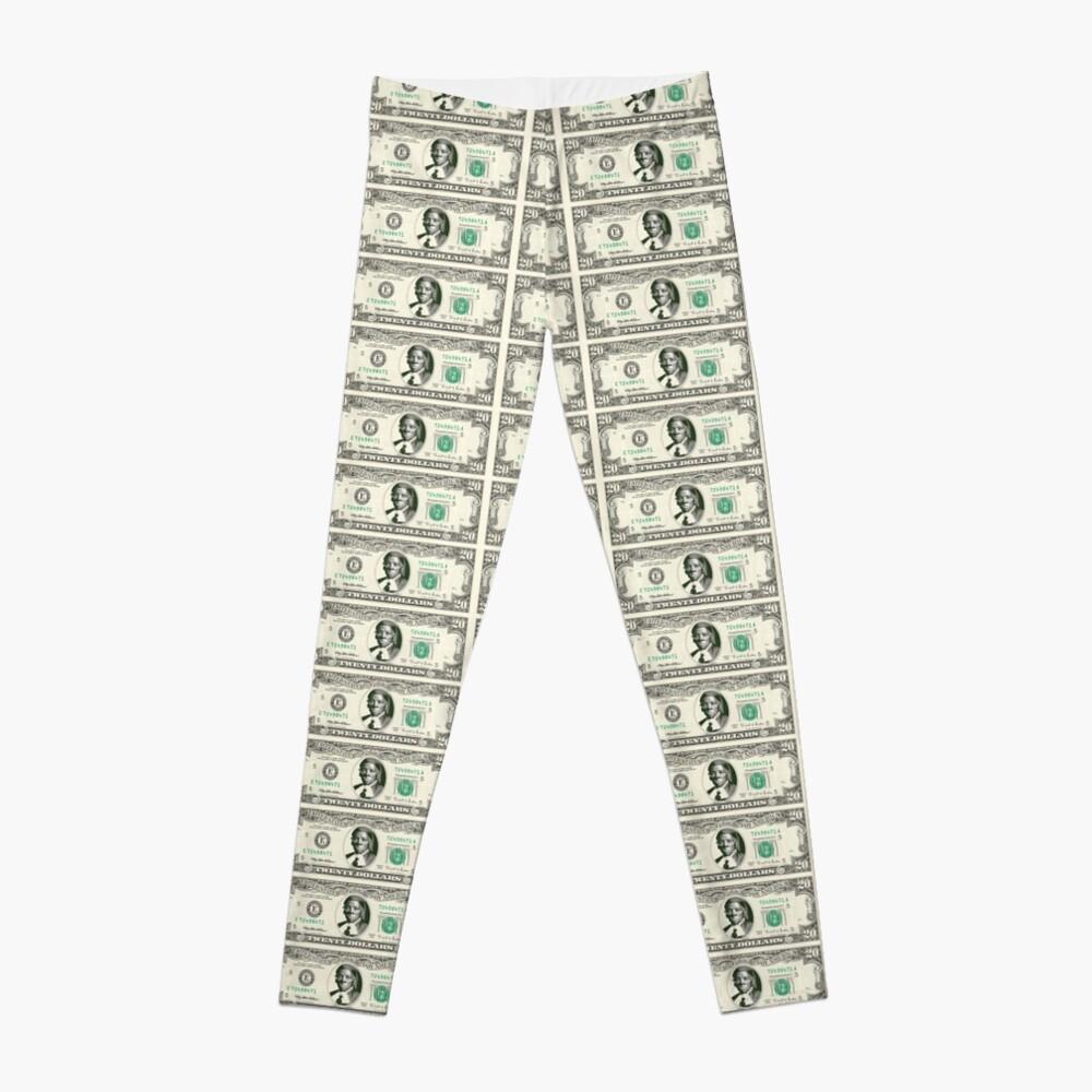 harriet tubman dollar Leggings