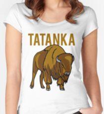 Buffalo Tatanka Women's Fitted Scoop T-Shirt