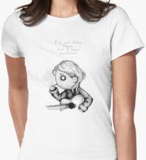 Kurt Plush Women's Fitted T-Shirt