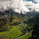 Stechelberg, Switzerland by Mark Howells-Mead
