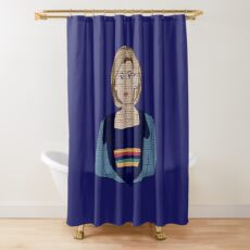 The 13th Doctor Shower Curtain