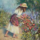 Alicia in the garden. by Norah Jones