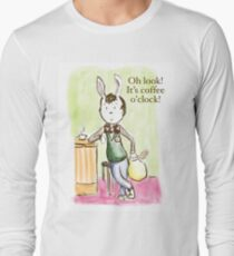Coffee Rabbit Long Sleeve T-Shirt