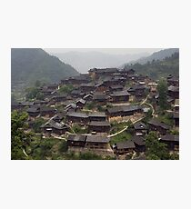 Chine - Xijiang Photographic Print