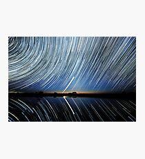 Lake Tyrrell. Reflections. Photographic Print