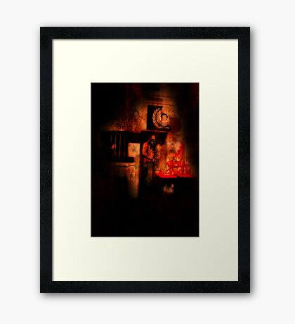We Had A Feeling Something Was Lost Framed Print