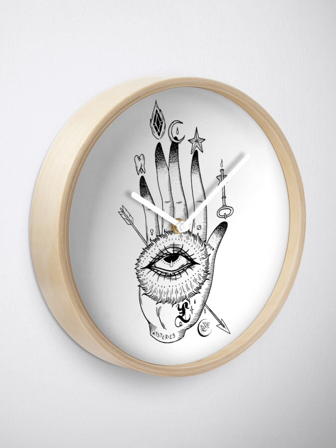 Alternate view of Hand of Mysteries  Clock
