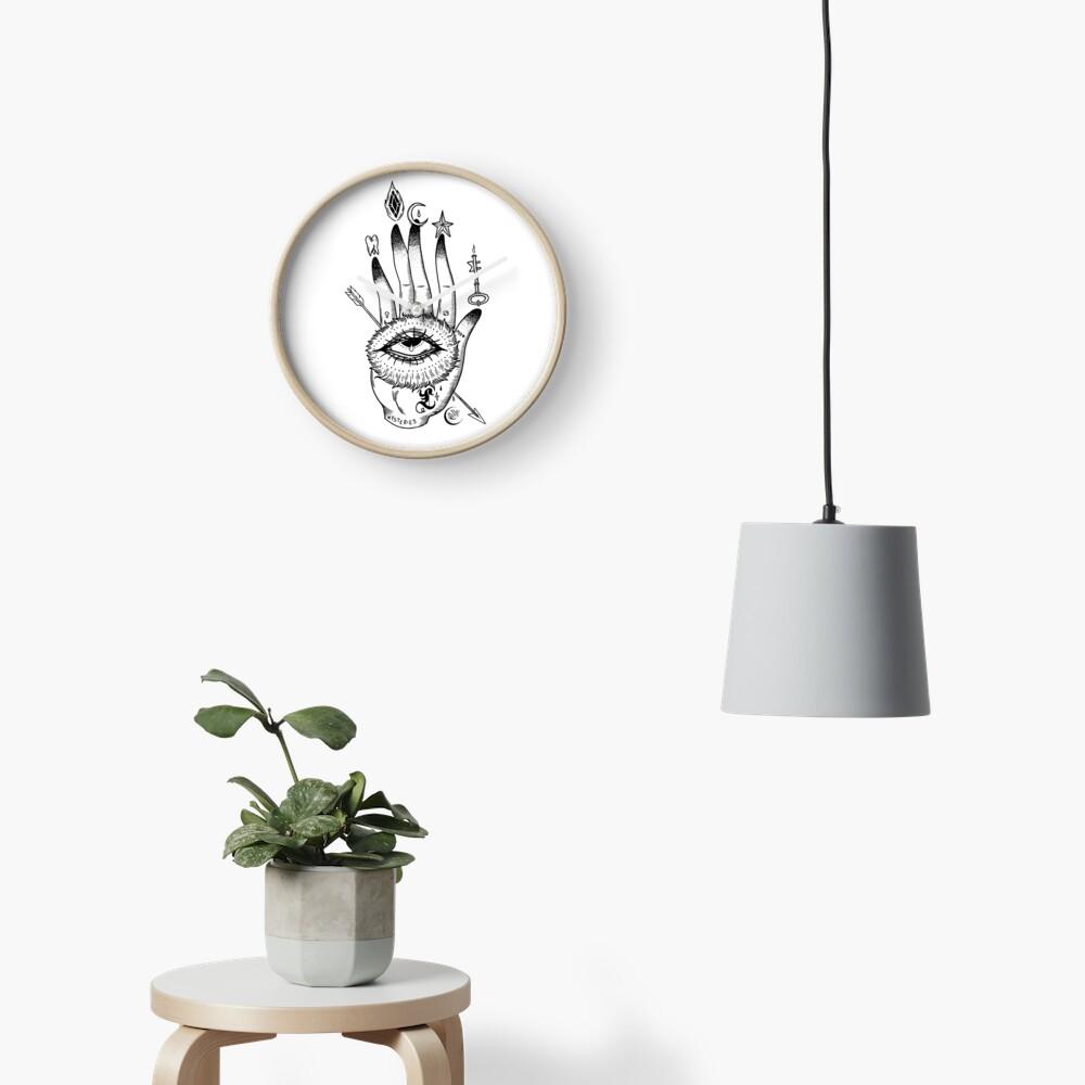 Hand of Mysteries  Clock