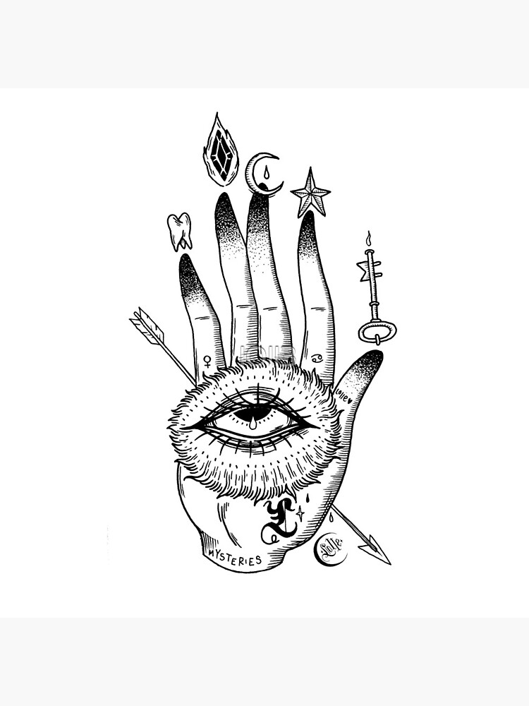 Hand of Mysteries  by lOll3