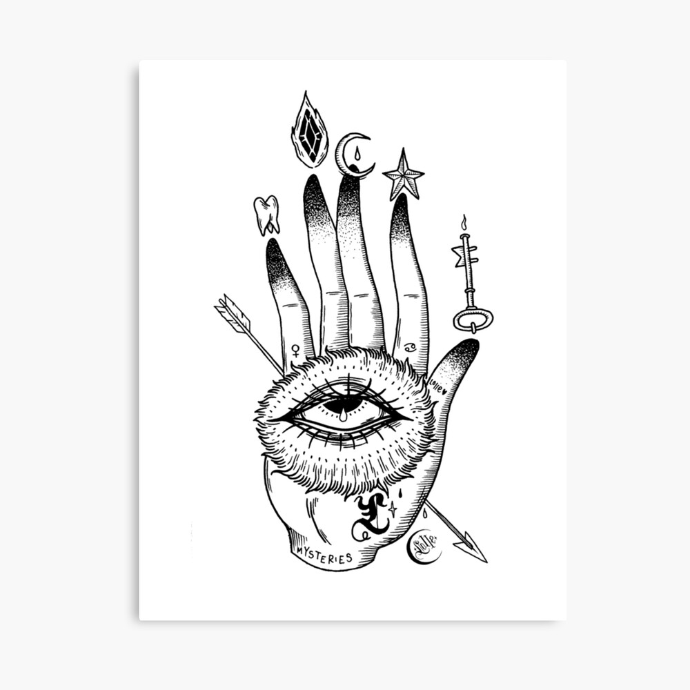 Hand of Mysteries  Canvas Print