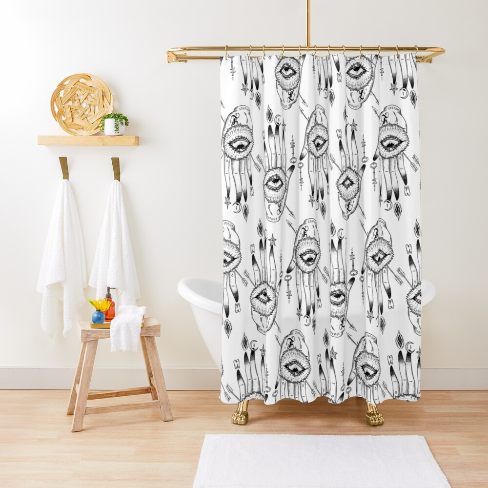 Hand of Mysteries  Shower Curtain