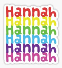 Hannah Sticker