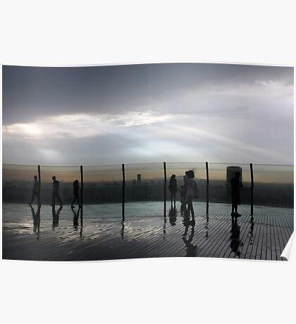 SkyDeck after rain Poster