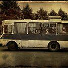 Bus trip with mum by Morten Kristoffersen