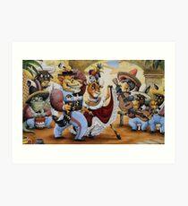 La Cucaracha by Tim Raglin Art Print