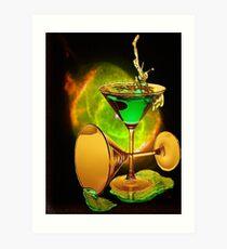 Universal Cocktail Art Print