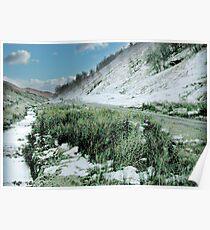 Icy Glen Sallach near Benderloch Poster
