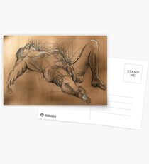 Reclining Male Nude #2 Postcards