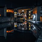 Cambrian Basin At Night by Chris Fletcher