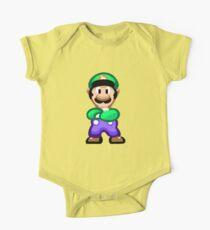 Luigi 16 Bit One Piece - Short Sleeve