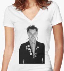 Camiseta entallada de cuello en V Darling Fascist Bully niño