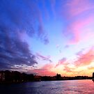 Dusk Over The Neva - St Petersburg, Russia #2 by J J  Everson