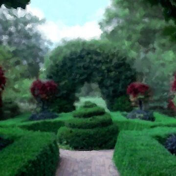Formal Garden Impressionist by quantum0d0