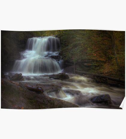 Tuscarora Falls (in full splendor) Poster