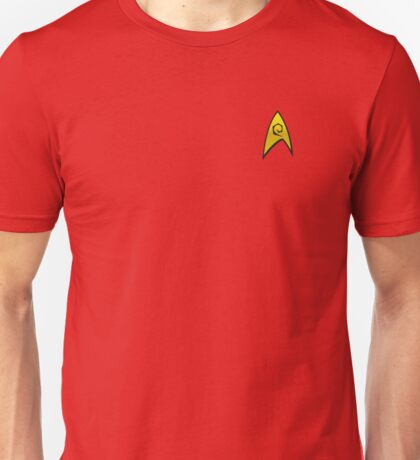Star Trek Engineering Uniform Unisex T-Shirt