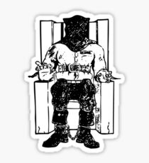 Death Row (Black Chair) Sticker