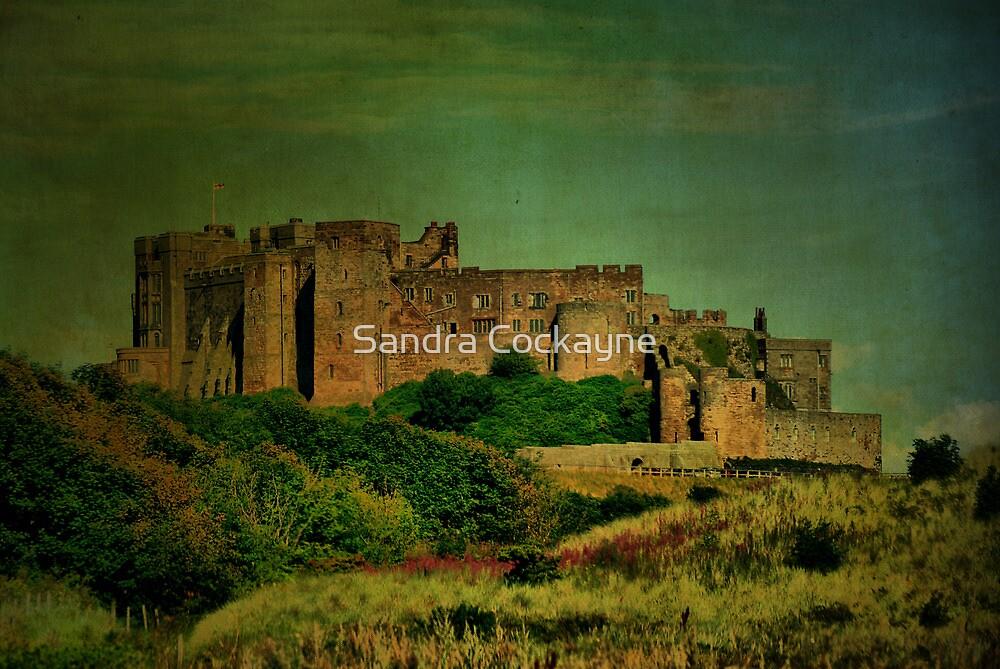 Bamburgh Castle #3 by Sandra Cockayne