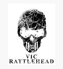 Vic Rattlehead - Megadeth Photographic Print