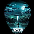 «Bienvenido al Área 51» de Dan Elijah Fajardo