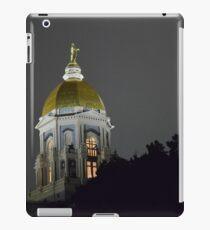 Notre Dame Golden Dome iPad Case/Skin