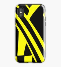 BLACK and YELLOW DAZZLE iPhone Case