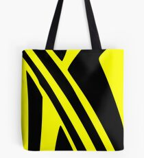 BLACK and YELLOW DAZZLE Tote Bag