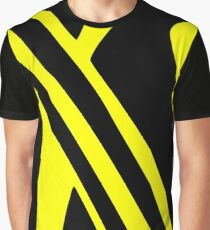 BLACK and YELLOW DAZZLE Graphic T-Shirt