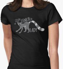 Crazy Lemur lady  T-Shirt
