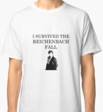 I survived the Reichenbach fall Classic T-Shirt