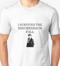 I survived the Reichenbach fall T-Shirt